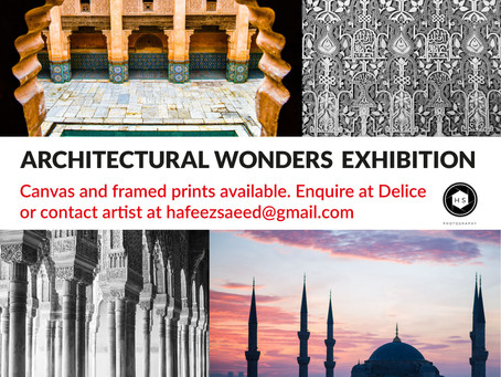 Explore the Architectural Wonders exhibition at Le Delice this week as part of the @e17Arttrail.