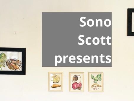 Local Artist Sono Scott at Le Delice