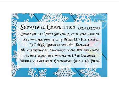 Paper Snowflakes❄️ Competition