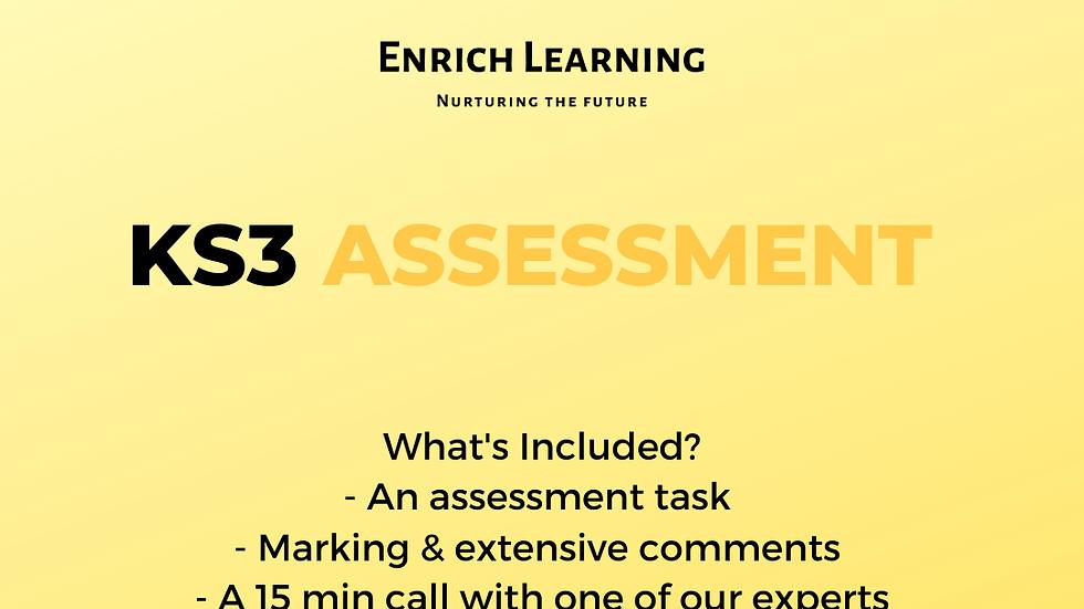 KS3 Assessment