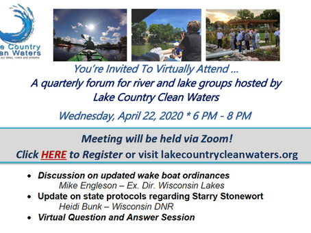 Join Our April 22nd (virtual) Meeting!