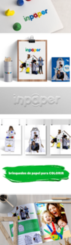 Aplicacão da Logomarca INPAPER