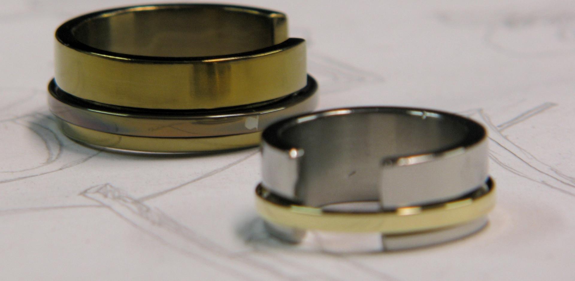 ouro e titanio K&A 1