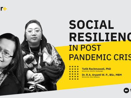 Social Resilience in Post Pandemic Crisis
