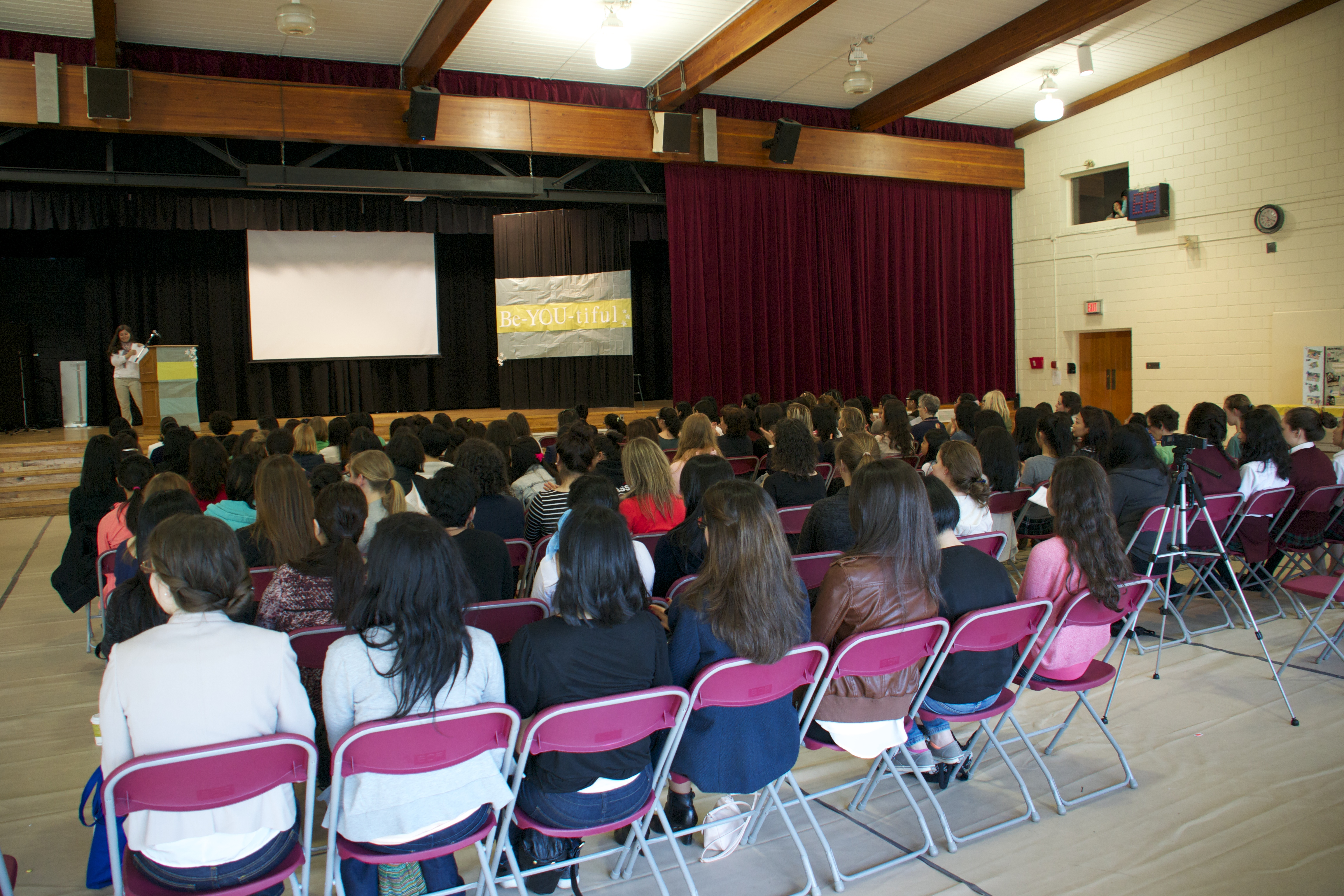 140 Young Women from all over!