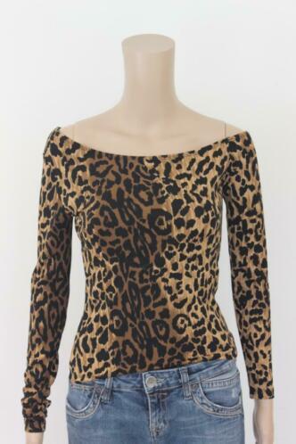 Amazone panterprint t-shirt maat 36/38