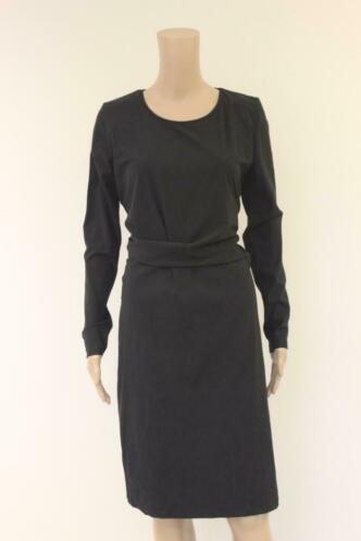 Donna Due zwart jurkje maat M (maat 38/maaat 40)