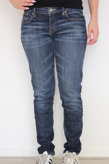 Abercrombie & Fitch - Blauwe jeans, maat 36