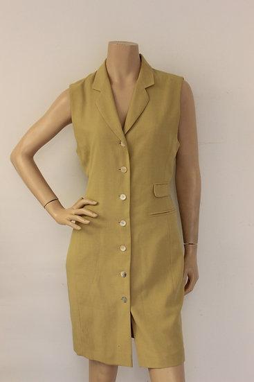 Elysio - Okerkleurige jurk, maat 38
