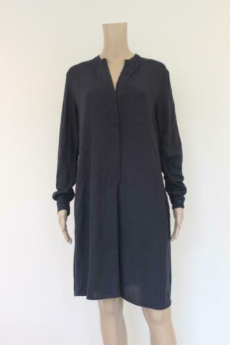 Purdey donkerblauwe jurk maat 38
