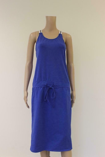 G. Ricceri blauwe jurk maat XL (maat 42/44)