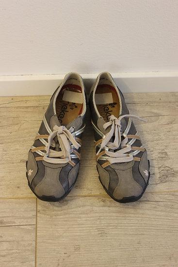 Rieker grijze sportieve schoenen maat 37