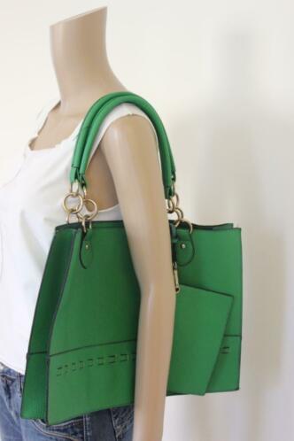 NIEUW J&D Paris groene tas