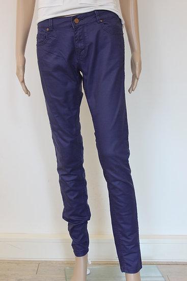 Supertrash -  'Peppy' paarse skinny broek, jeansmaat 29
