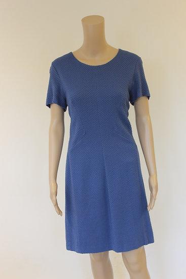 Marc Aurel - Blauwe jurk, maat 42