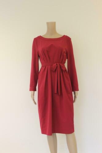 Trvldrss - rode jurk, maat M (maat 38/maat 40)