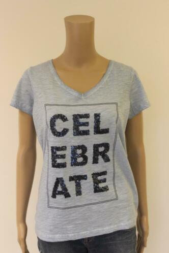 Tramontana - lichtblauw t-shirt, maat M