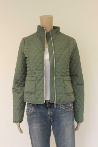 Jensen - groene jas, maat 36