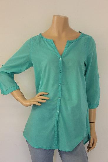 Bella Ragazza - Turquiose blouse, maat 38/40