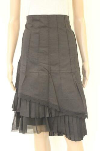 Ro-Zu zwarte rok maat 44