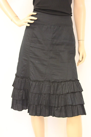 Carbone zwarte rok maat 38