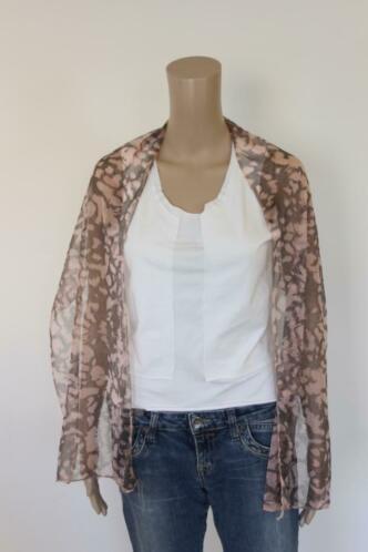 Roze/bruine sjaal