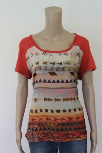 Expresso bont t-shirt maat XL (maat 42/44)