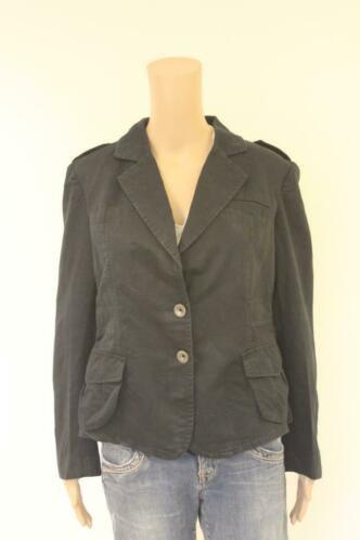 Mexx zwart casual jasje maat 42