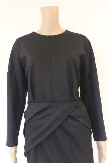 SET - Zwarte jurk, maat 42