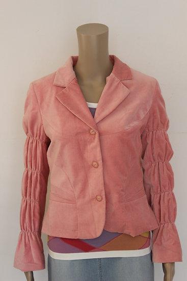Bellissima - Roze velours jasje, maat 38