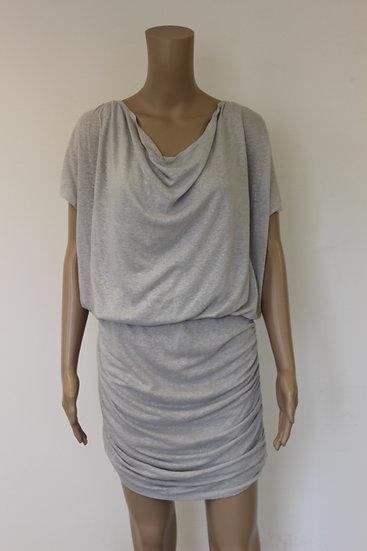 Alice + Olivia - grijze jurk, maat L