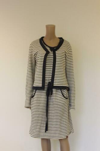 Mooi Vrolijk - set van jurk (XL) & vestje (L) (valt als 40/42)