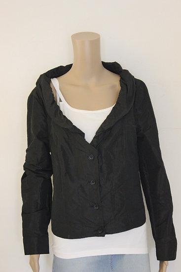 Anna van Toor - Zwart feestelijk jasje, maat 46