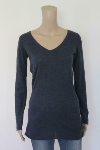 Geddes & Gillmore - blauw lang t-shirt, maat M (maat 38)