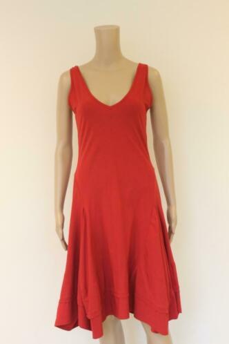 Cassiopée rode jurk maat M (maat 38)