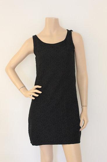 Comma - Zwart jurkje, maat 36
