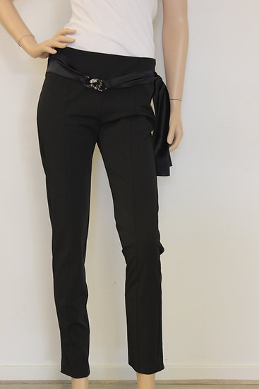 Roccobarocco - Zwarte pantalon, maat 38
