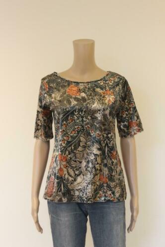 Expresso - bont velours t-shirt, maat 36