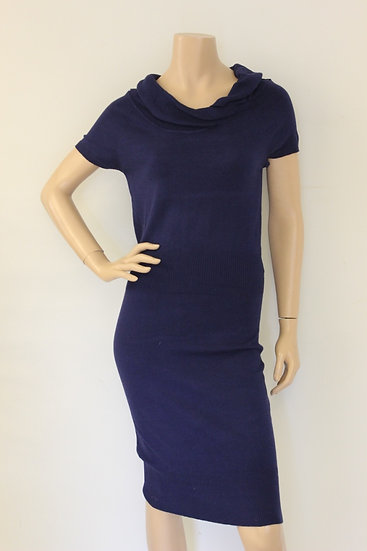 Morgan de Tol - Blauwe jurk, maat 38