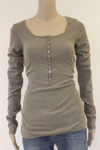 Geddes & Gillmore bruin t-shirt maat M (maat 38/maat 40)