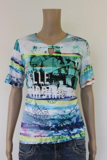 Frank Walder - Bont T-shirt, maat 40
