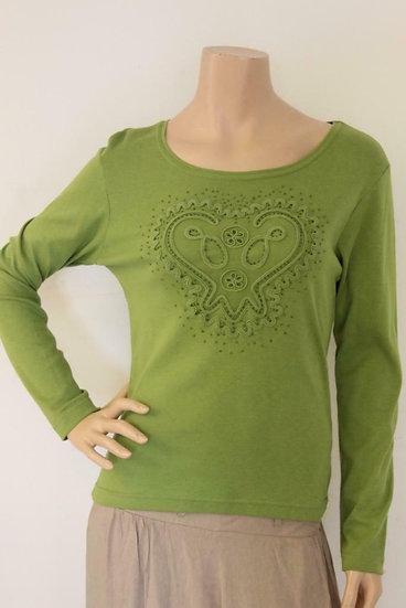 CPM - Groen shirt, maat 38/40