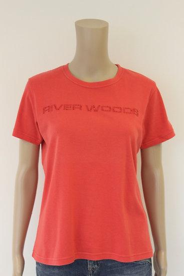 River Woods - rood T-shirt, maat XXL (maat 42/maat 44)