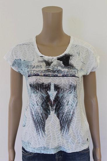 Poools - Bont T-shirt, maat 36