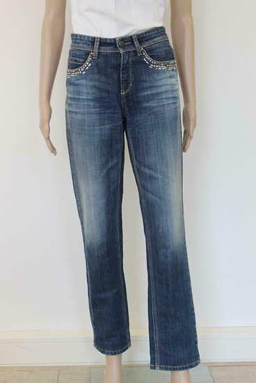Cambio - Blauwe jeans model Nelly, maat 36