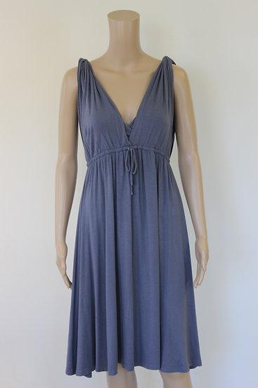S'NOB - Blauwe jurk, maat 36/38