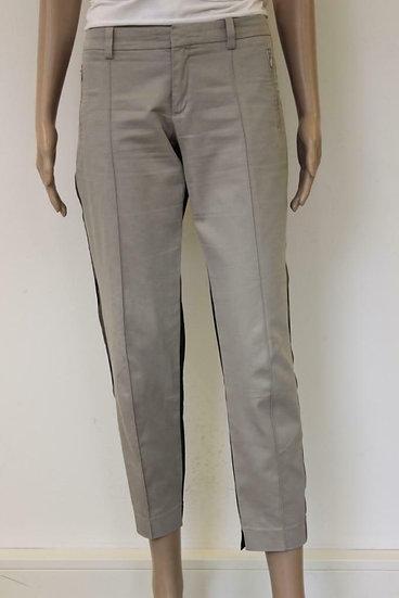 Drykorn - Zwart/beige/bruine broek, maat 28-34 en 30-34