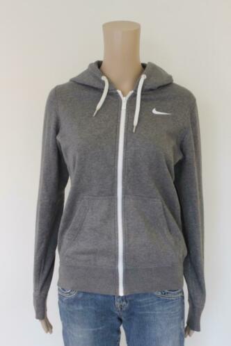 Nike grijs vestje met capuchon maat S (maat 36)