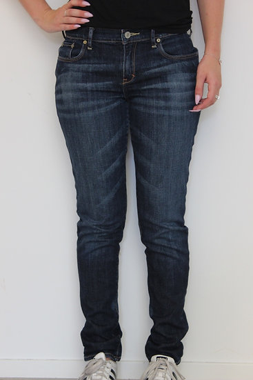 Abercrombie & Fitch - Blauwe jeans 'Perfect Stretch', maat 36