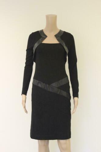 Chiarico-  zwarte jurk, maat S (maat 36)
